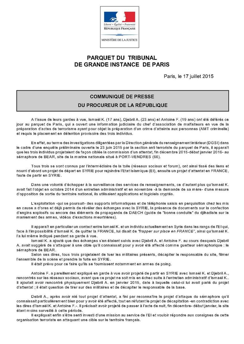 Actualités Françaises - Page 2 CKG82dDVEAAz01t
