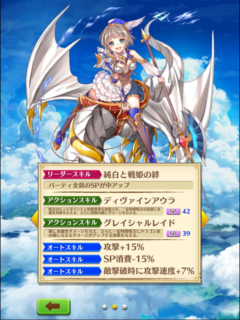 【白猫】ドラゴンライダー「ゲオルグ」&「エクセリア」の無凸/4凸Lv.100ステータス判明!【プロジェクト】