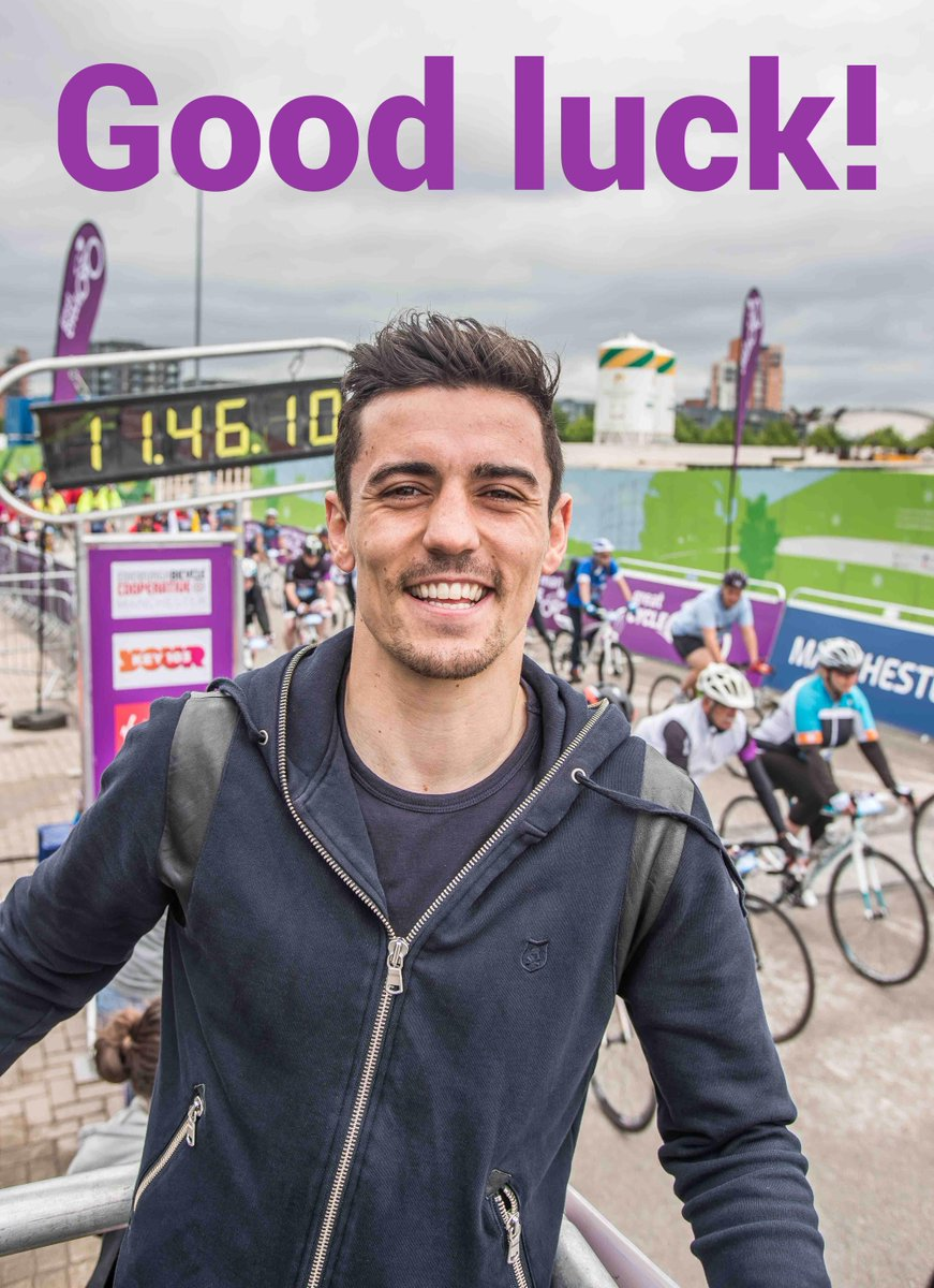 Anthony Crolla will fight for the world title @mcrarena tomorrow Good luck from the #GreatManchesterCycle team! http://t.co/Qn4bwK9PS2