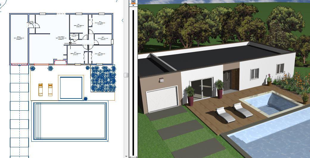 Como construir tu propia casa amazing a falta de la for Hacer planos 3d