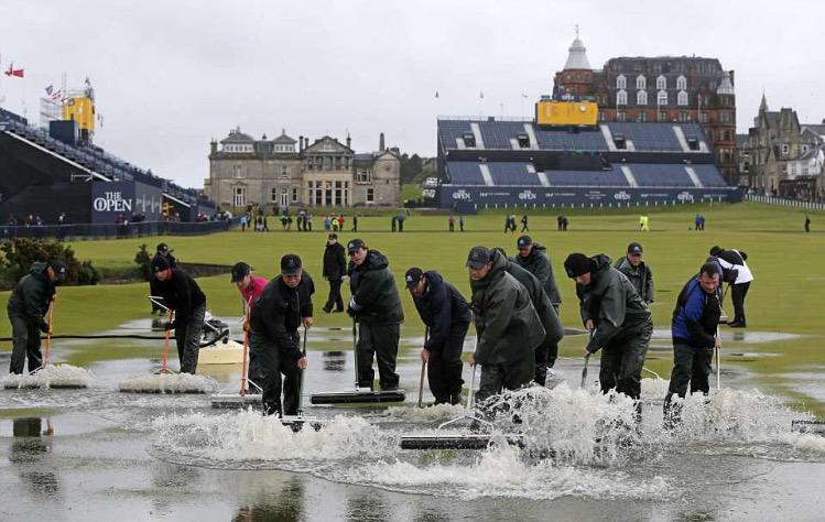 Three cheers for the @TheHomeofGolf staff who work tirelessly so @TheOpen can keep on going! #theopen http://t.co/P270lrB1hO