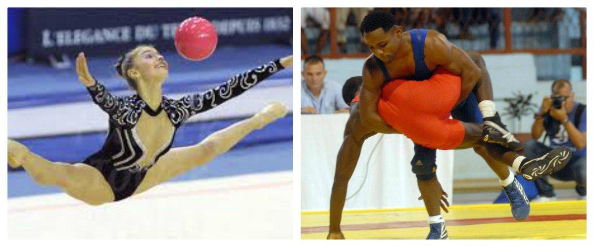 Debutará hoy delegación cubana en lucha libre y gimnasia rítmica