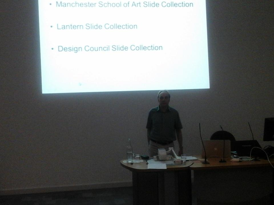 John Davis talking about the Visual Resources Collection @mmu and its future, currently under threat #ARLIS2015 http://t.co/55CfpA3NyR
