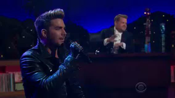 Surprise! Adam Lambert pays a musical tribute to the 50t... WATCH NOW: https://t.co/WcVFvBhfRk #whipclip http://t.co/zO4gtuEJ4H