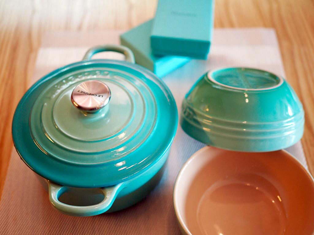 Stunning beautiful! The cool mint series by LC is really Tiffany #lecreuset #lecreusethk #lecreusetsa #cooking #homepic.twitter.com/Ceh1yHnix5