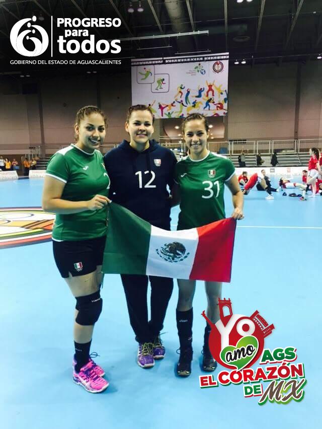 3 aguascalentenses son parte de la Selección Nacional de Handball que participa en los Panamericanos Toronto 2015 http://t.co/BblO6uHqwa