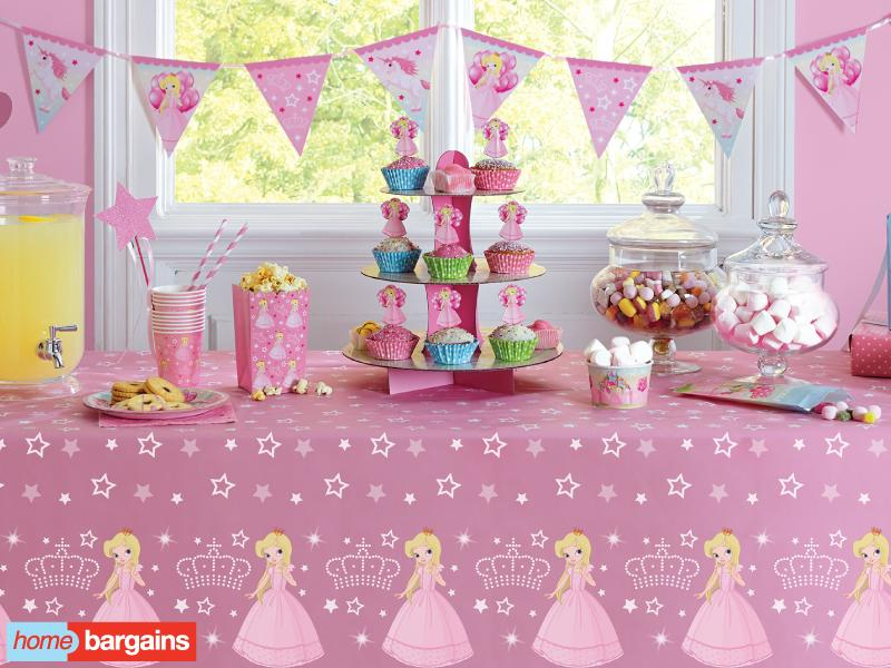 Home Bargains on Twitter   Give your little Princess the fairytale party  she always wanted with our Little Princess Party Range  Princess. Home Bargains on Twitter   Give your little Princess the fairytale