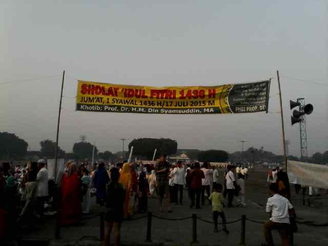 Salat Idul Fitri 1436 H di Alun-alun utara Yogyakarta