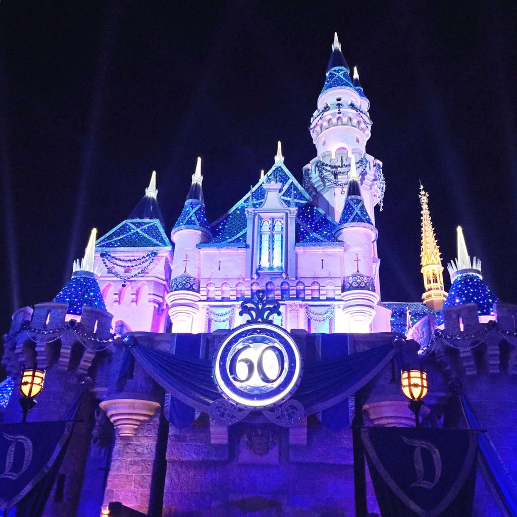 .@Disneyland thank you for 60 years filled w pixie dust! We became annual pass holders to celebrate. #Disneyland60 http://t.co/f54AUPRkTc
