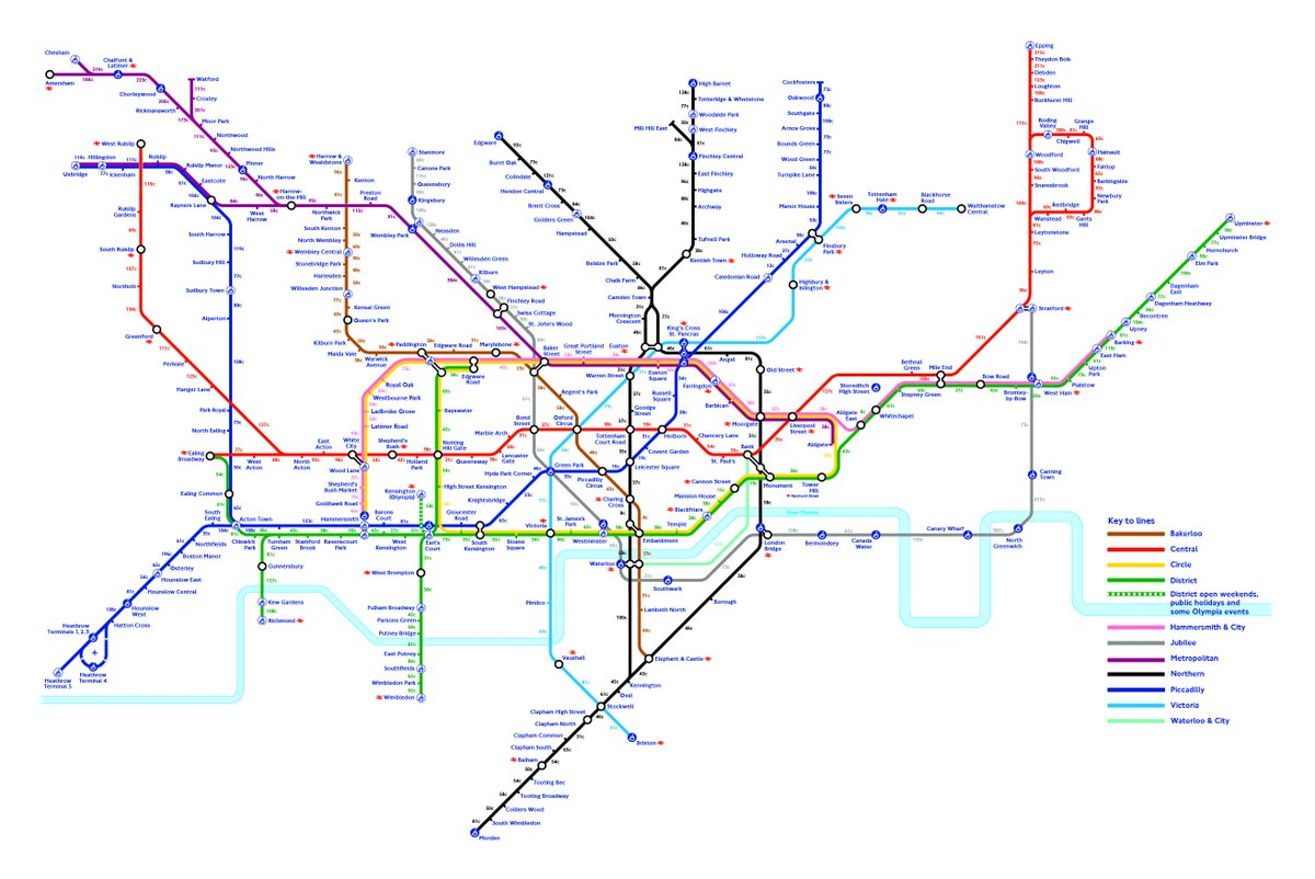 New London Tube Map shows how many calories you can burn walking between each stop #Walkable http://t.co/CHy0KqjHOR http://t.co/hFbJroaQSb