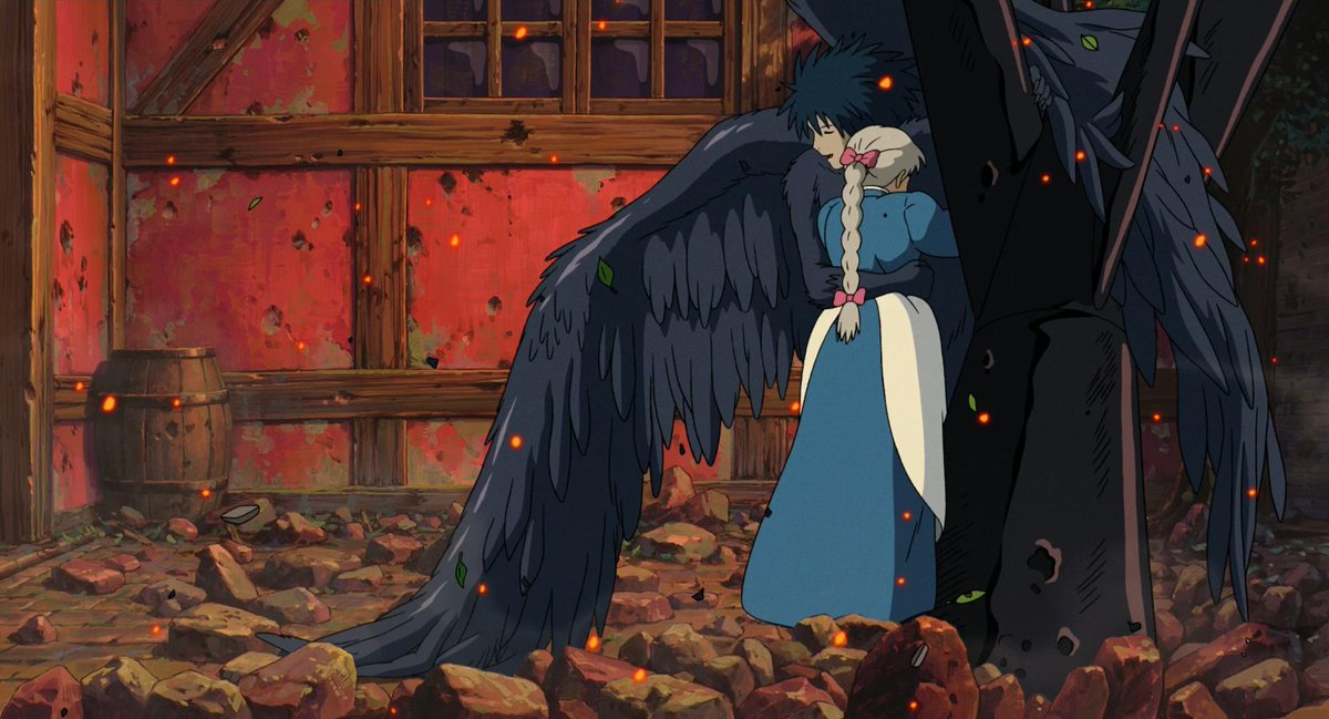 Avitas Coopsoc On Twitter Raysofcinema Howl S Moving Castle 2004 Directed By Hayao Miyazaki Cinematography By Atsushi Okui Http T Co Ahcuiof7np