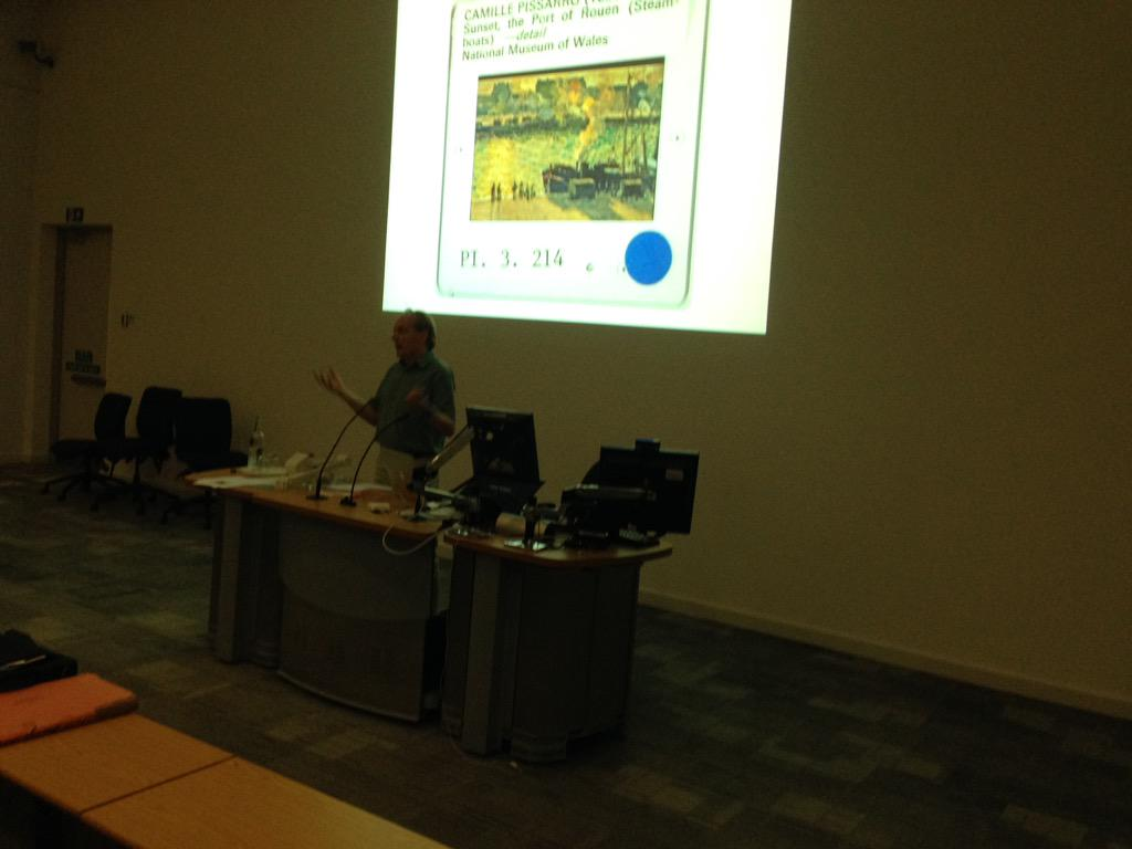 John Davis gets back to analogue at the #ARLIS2015 UK & Ireland conference #loveanalogue http://t.co/xOEoImuBeX