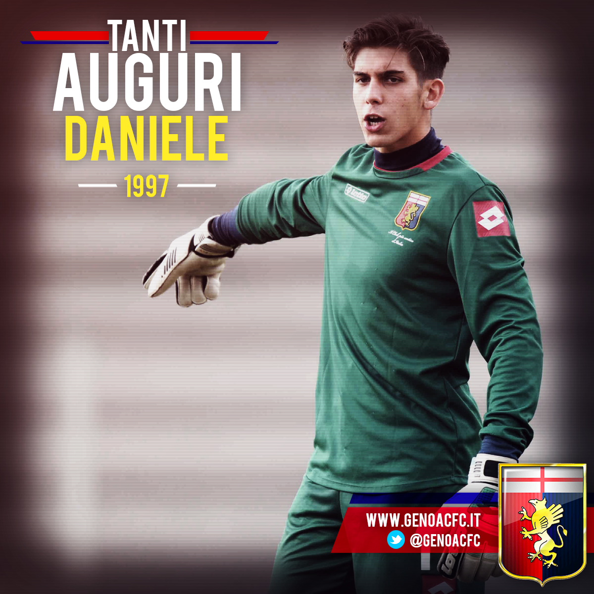 Genoa Cfc On Twitter Buon Compleanno Daniele Happybdaygrifone