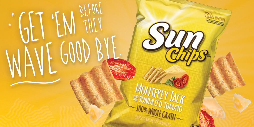 sunchips brand on twitter monterey jack sundried tomato sunchips