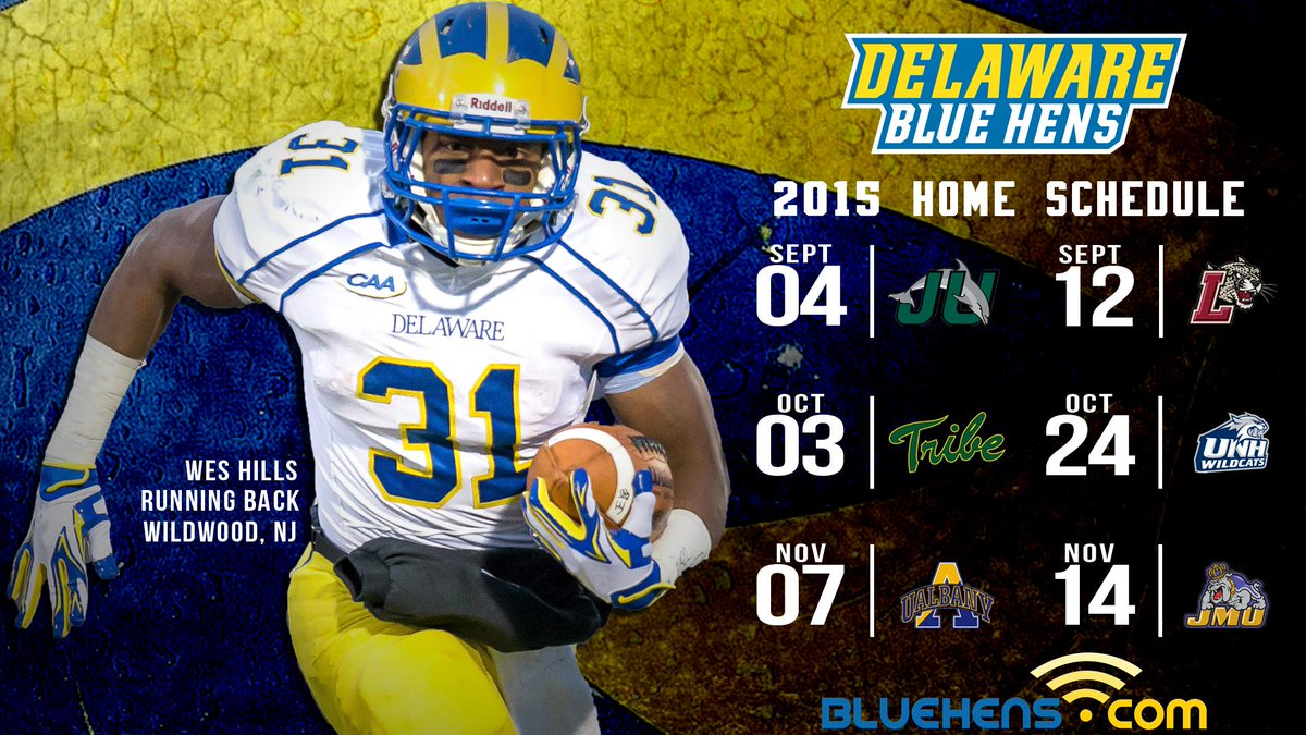 new style 8dd1b 22d8a Delaware Football on Twitter: