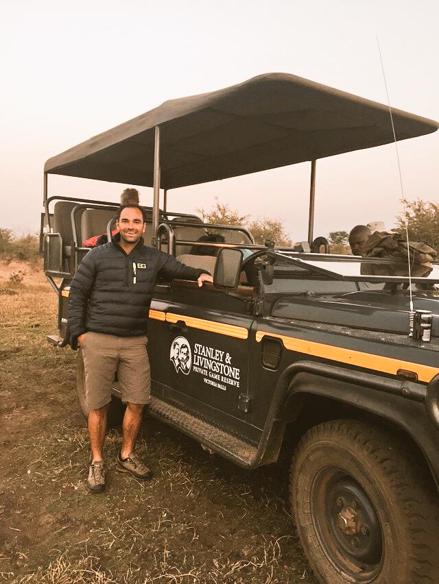 Great time @vicfallsbig5 on safari. Home to the Bear Grylls South Africa course. @BGSurvival http://t.co/tmuPKZt1IU