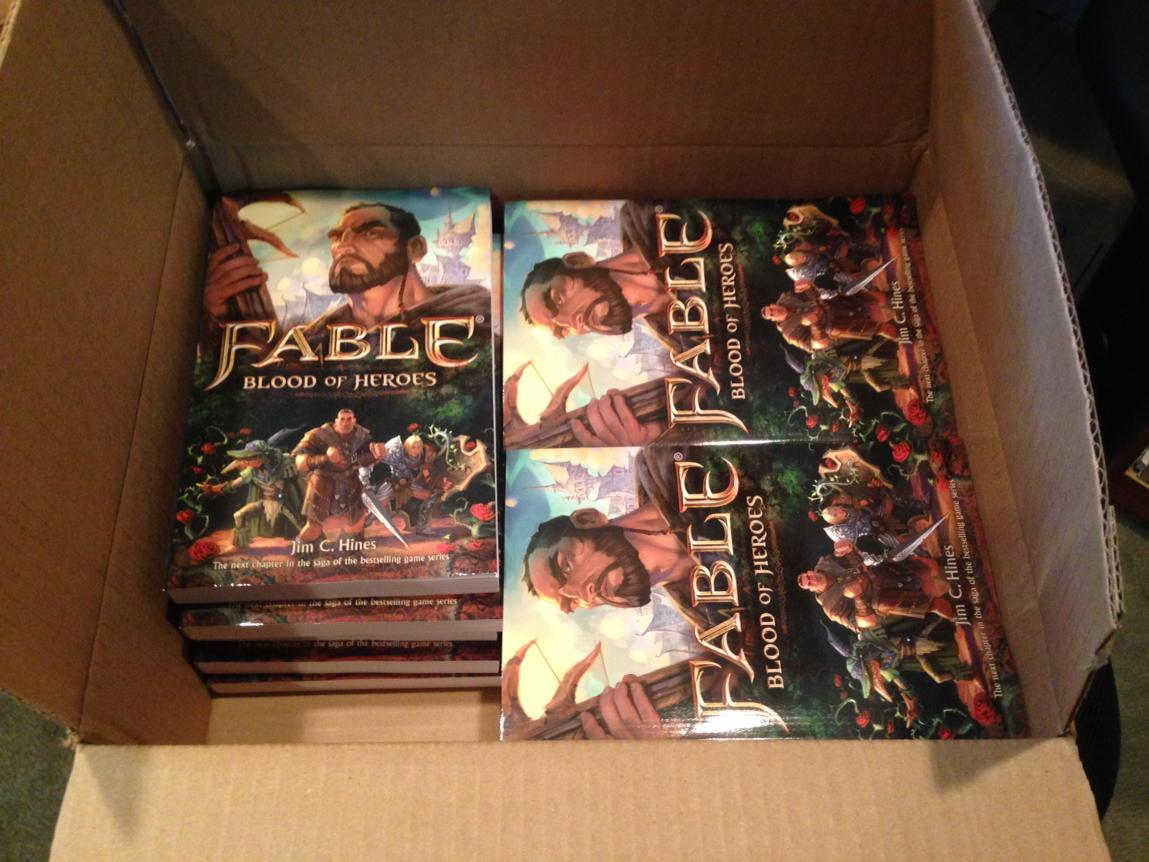 Fable Author Copies