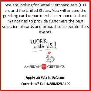 American greetings on twitter pt retail merchandisers wanted all american greetings on twitter pt retail merchandisers wanted all over the us need extraincome look at the workatag jobs httptxqb4sp1sha m4hsunfo