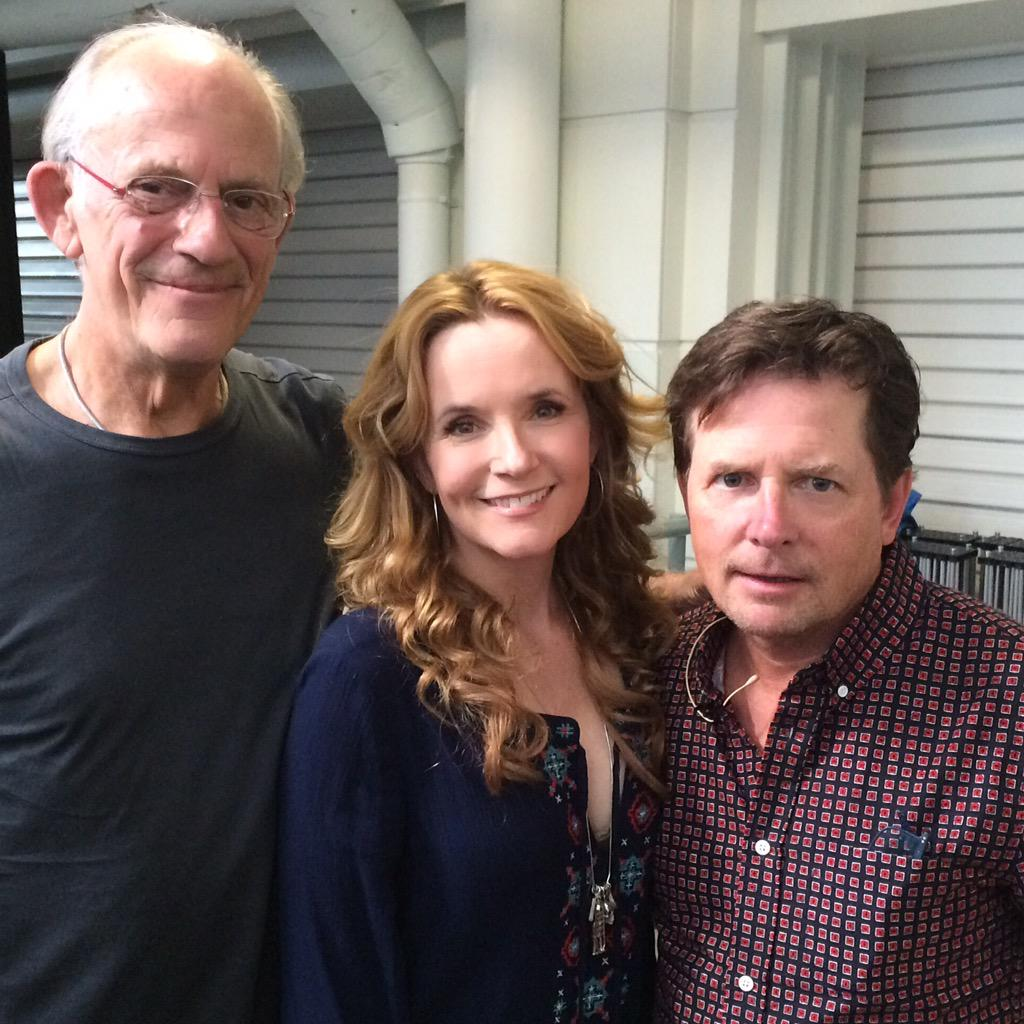 BFF #BTTF30 @realmikefox #ChrisLloyd #LFCC So wonderful to see these guys. http://t.co/KkNios5u2T