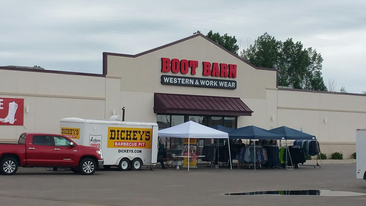 Boot Barn on Twitter  Tent Sale in going on in Minot PLUS @Dickeys BBQ on site! See store information for details //t.co/ae5bcxRGkq ... & Boot Barn on Twitter: