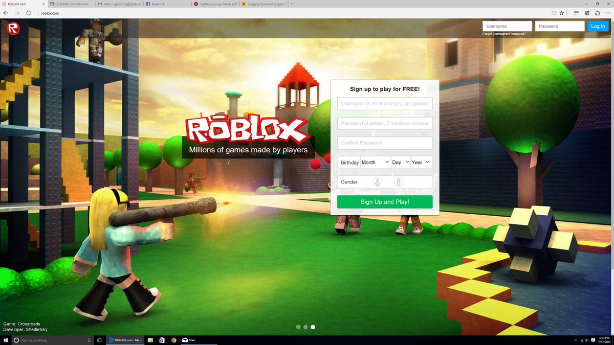 Scriptonroblox On Twitter Cool Sexy New Roblox Login Page