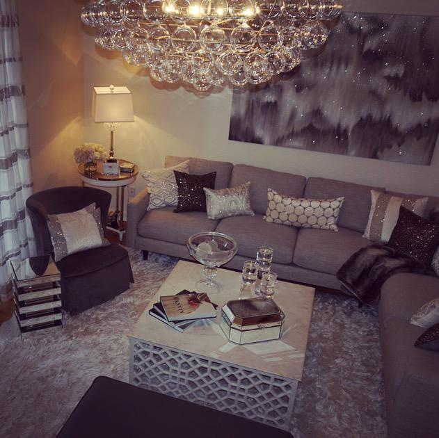 Jaclyn hill on twitter so much sparkle omg i 39 m done Wallpaper and paint ideas living room