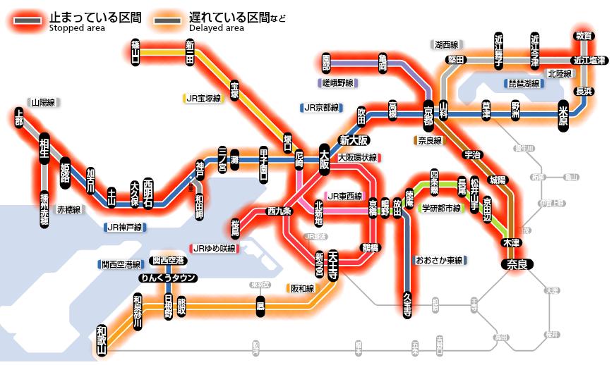 それでは8時のJR西日本の状況です http://t.co/K69BlRY2PC
