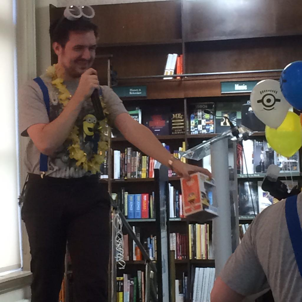 """Barnes & Noble On Twitter: """"Passing Out Prizes For Minions"""