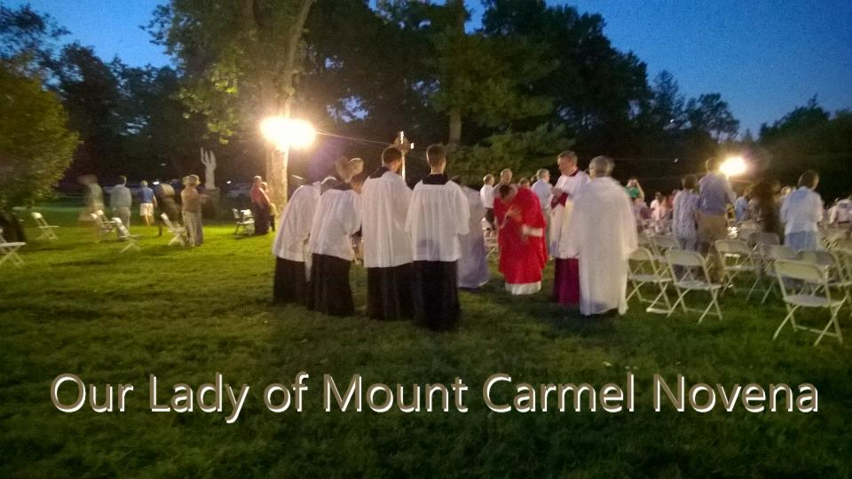 7th night, Novena @CarmelitesSTL http://t.co/cdwsFQ6t4c