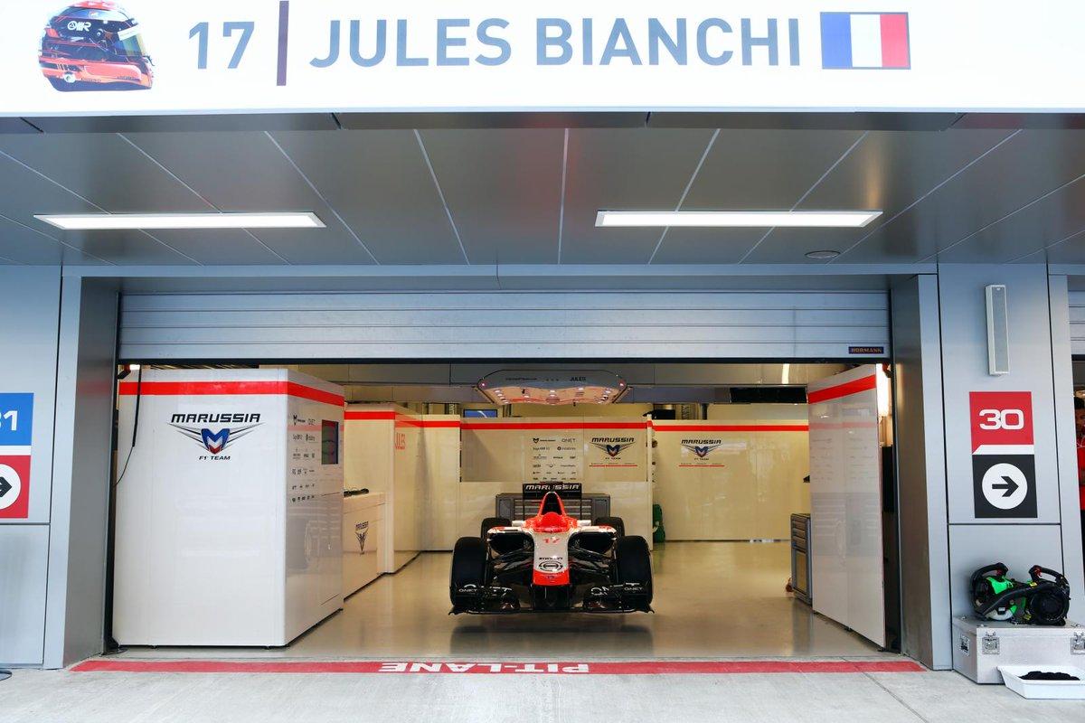 Foto Jules Bianchi: Bollettino medico Jules Bianchi F1, il pilota resta in terapia intensiva