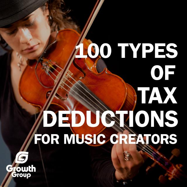 Hundreds of Tax Deductions for Music Creators  http:// bit.ly/1e5thnE      via @GrowthGroup <br>http://pic.twitter.com/4cykkPjTG5