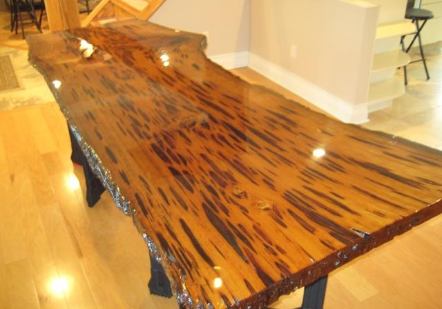 Mark On Twitter Quot Pecky Cypress Wood Slab Table Top That