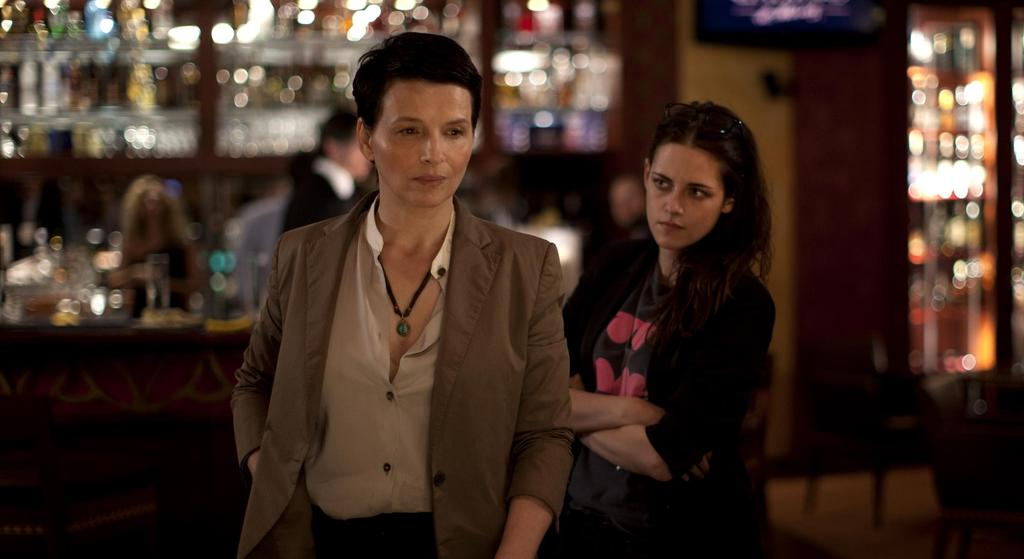 """""""I think your reading is simplistic."""" Brilliant, seductive CLOUDS OF SILS MARIA is now on VOD and DVD. http://t.co/crfgBWEMYF"""