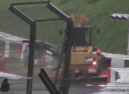 Incidente di Jules Bianchi nel Gran Premio del Giappone di Formula 1