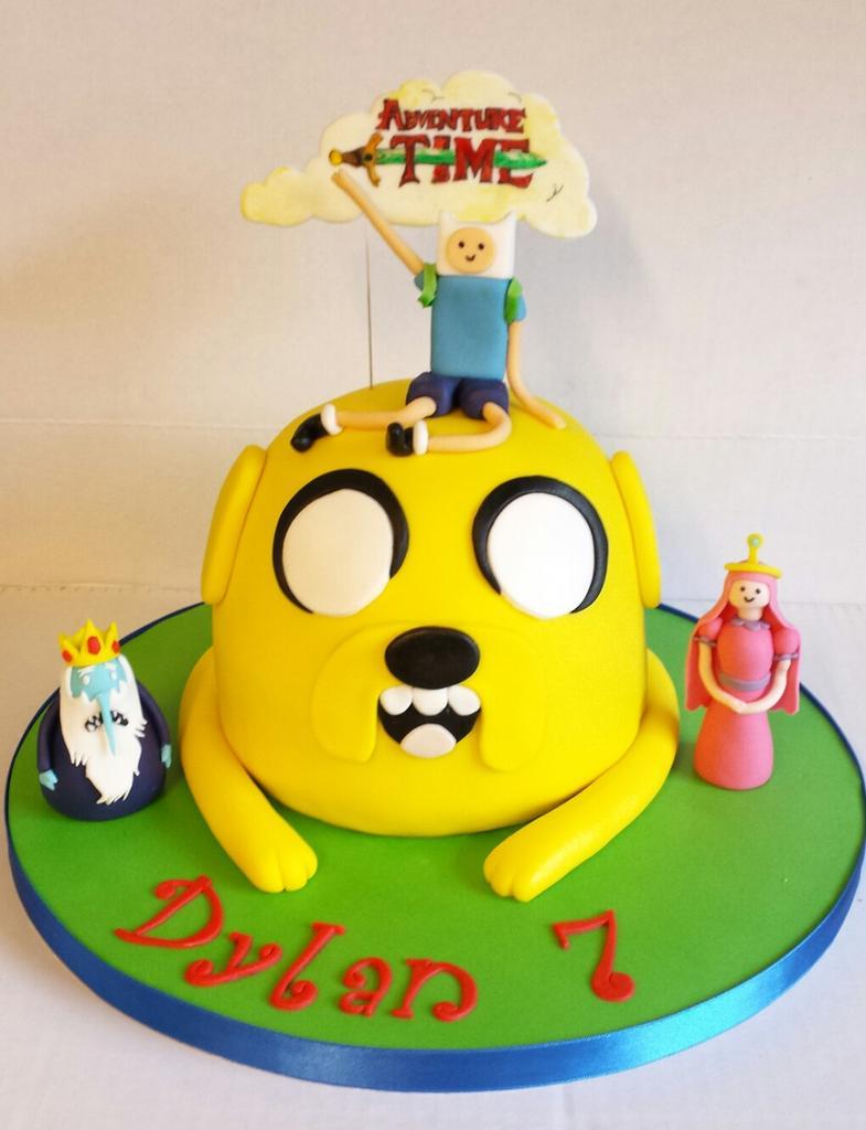 Strange Funky Cakes On Twitter My Little Boys Adventure Time Birthday Personalised Birthday Cards Arneslily Jamesorg