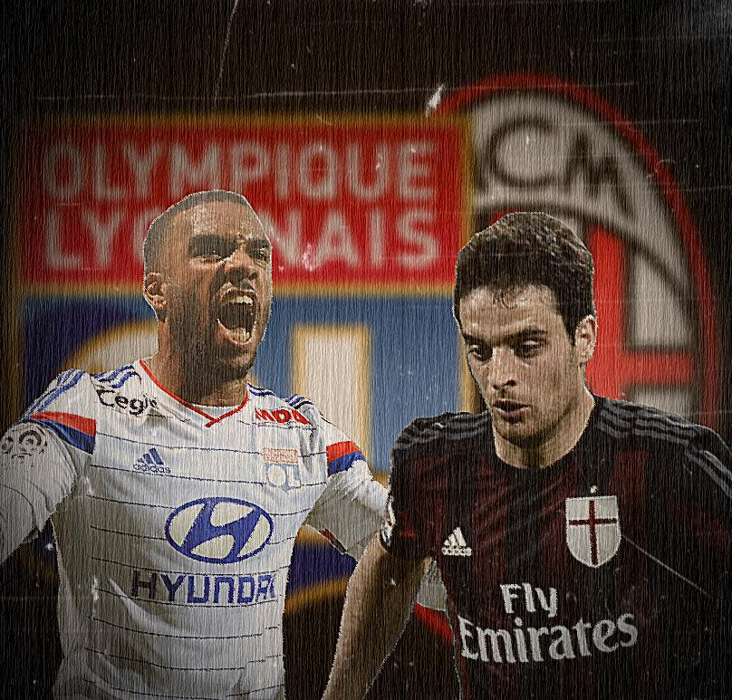 Olympique Lione-Milan streaming