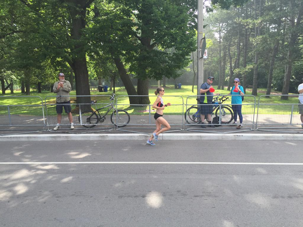 '@runmommaster with 5k to go in the @TO2015 #panam women's marathon! http://t.co/7dL5A9ciZA