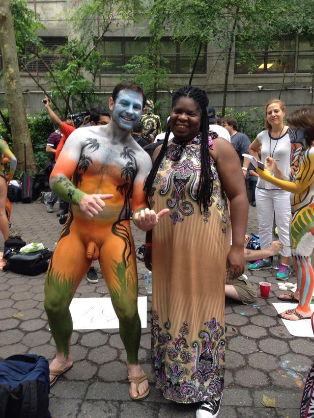 Stand up comedian nyc the naked girl 3