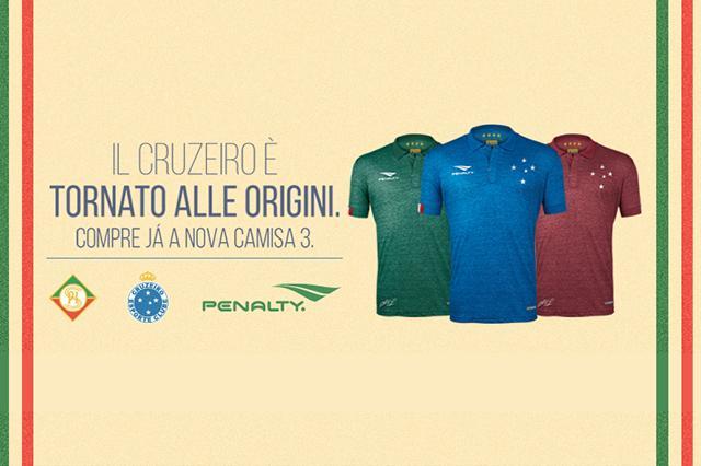 f9d7776bad Camisa 3 Penalty do Cruzeiro 2015 http   t.co Wq1UPrgx3z. Compartilhar.  Facebook · LinkedIn · Pinterest