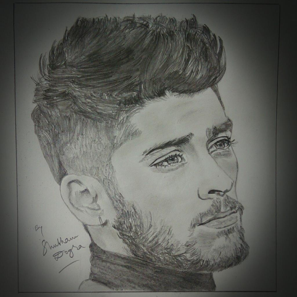 Pencil sketch by me zaynappreciationday zaynmalik pic twitter com lqtoxelgkb