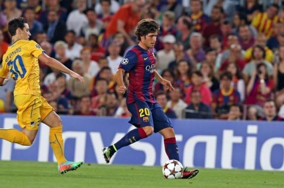 Everton Target Barcelona's Sergi Roberto