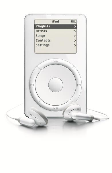 The first iPod was introduced in 2001 —