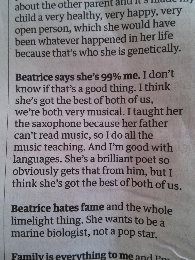 Heather Mills on her musically inept ex-husband there http://t.co/X2JatemOM1