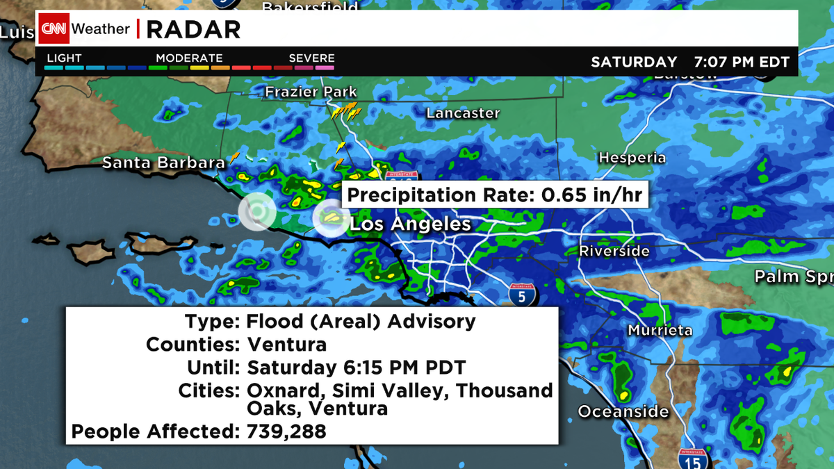 TS #Dolores brings heavy rain, frequent lightning, and fires to #LA and #severe storm warnings for the #sw