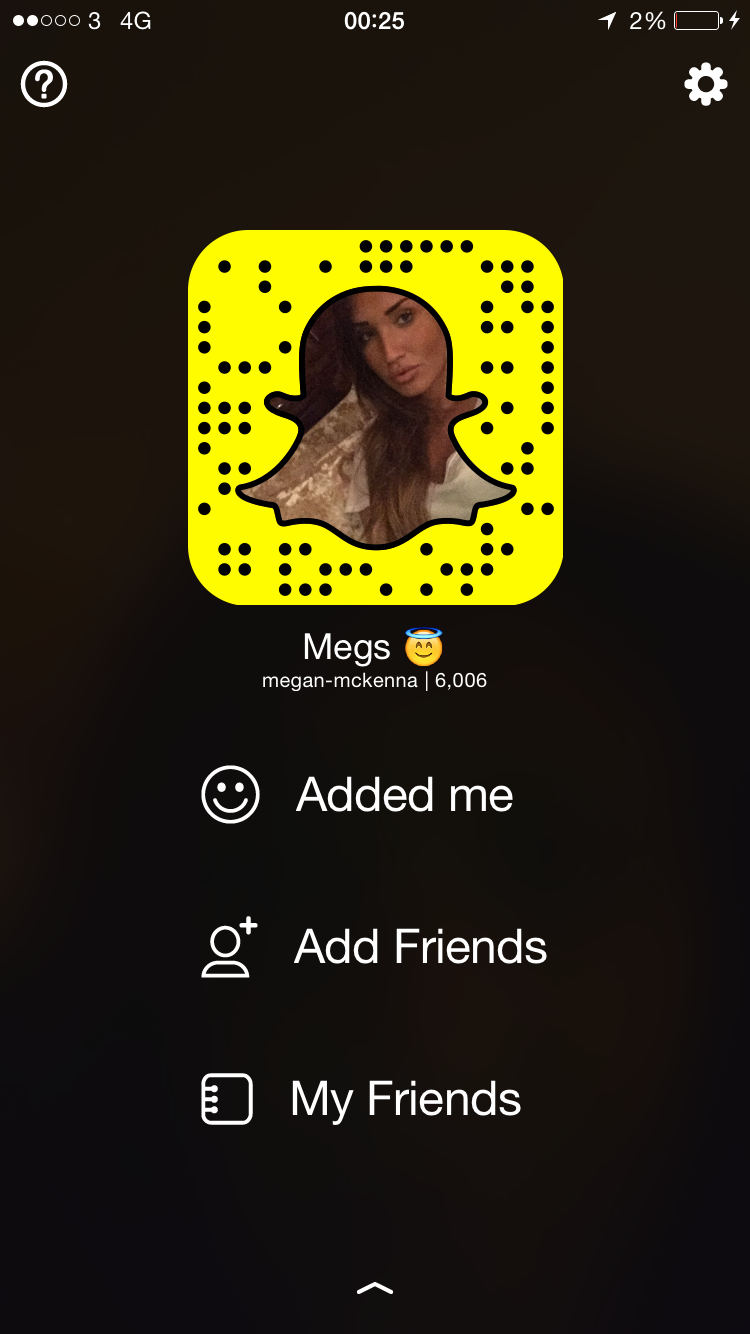 see through Snapchat Megan McKenna naked photo 2017