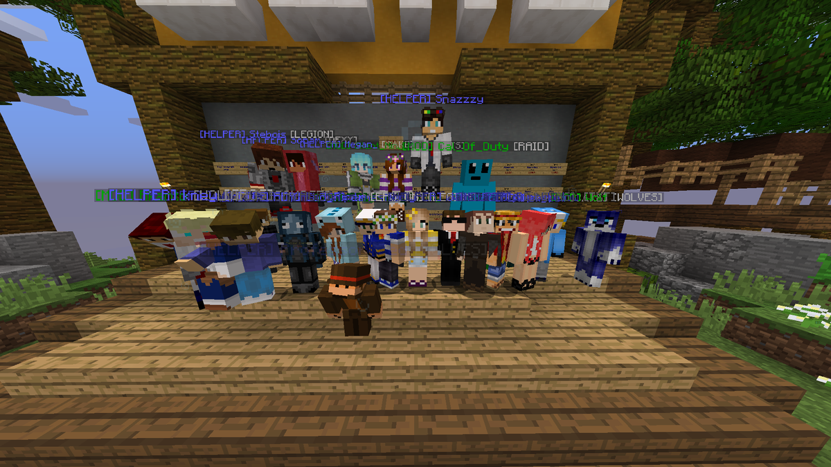 jamie on twitter welcoming 8 new helpers to the hypixel team http