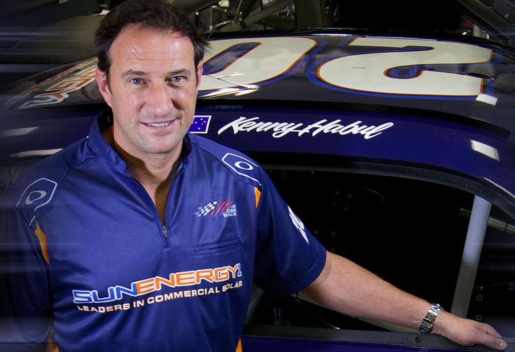 #NASCAR driver & SunEnergy1 CEO Kenny Habul donates record $100,000 to Summer Camp Fund  http://t.co/cqkvCD74fp