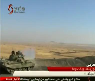الدبابه T-55 السوريه ودورها في الحرب القائمه هناك  CKPHqFiUAAEs-ZC
