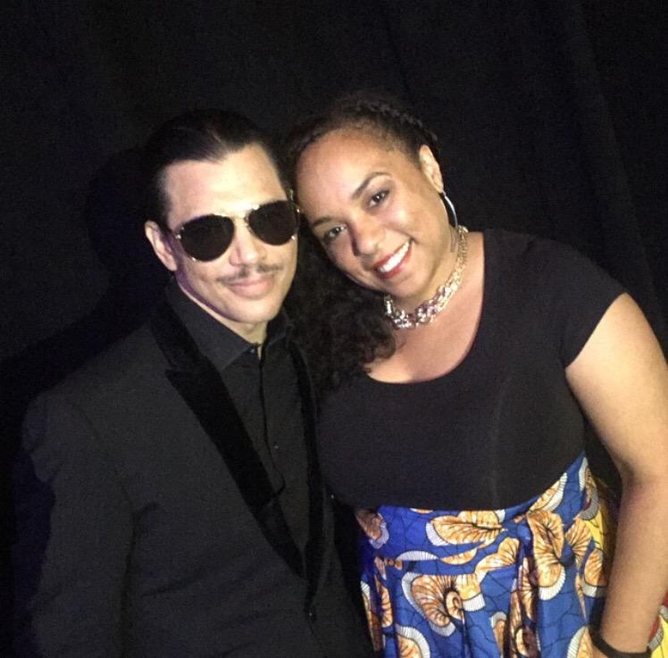 With @ElDeBarge before hitting the #IBE45 stage. Always great to see my brother from another mother. http://t.co/MWs6VWiTgP
