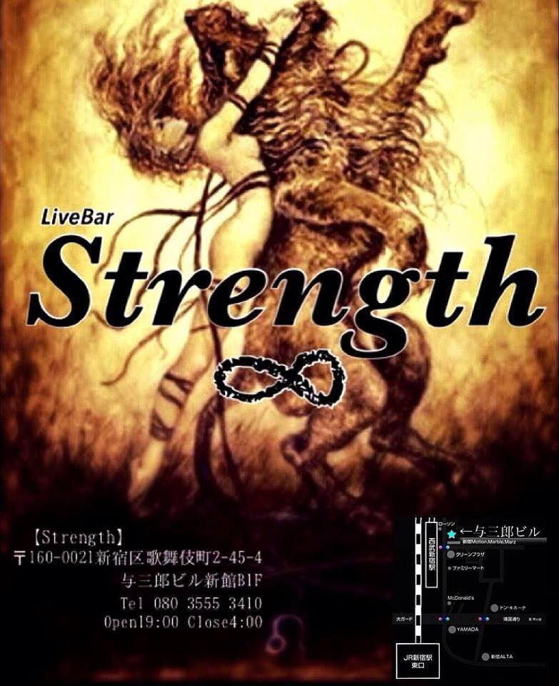 歌舞伎町 [Live bar ∞ Strength]